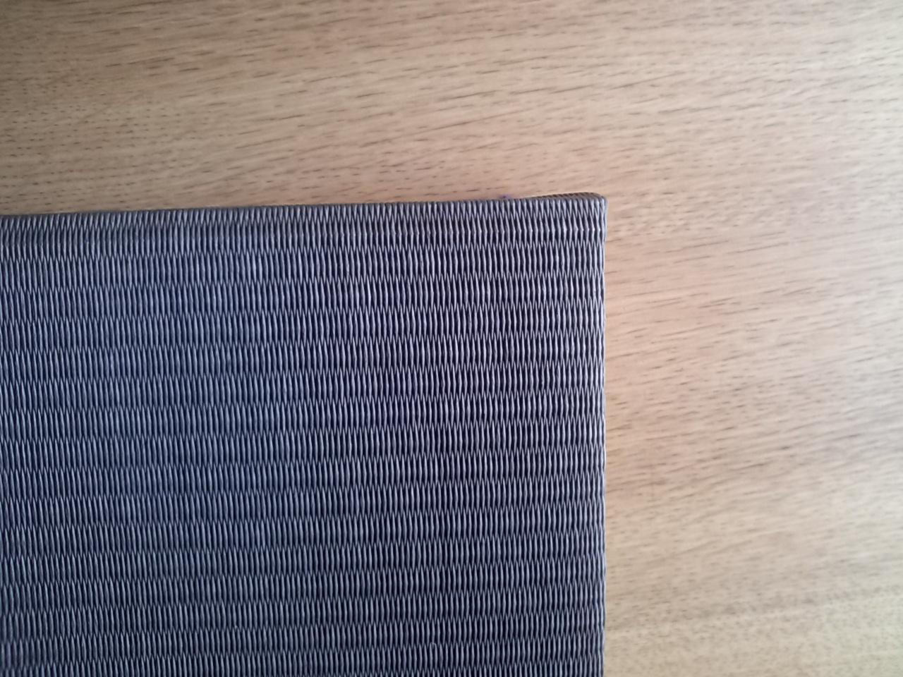 黒色の畳表